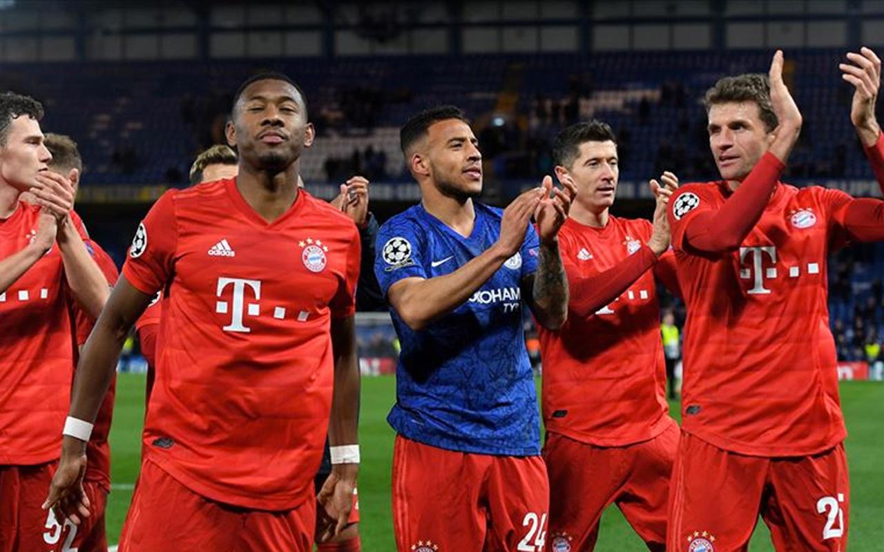 UEFA Şampiyonlar Ligi'nde Barcelona ve Bayern Münih avantajı kaptı