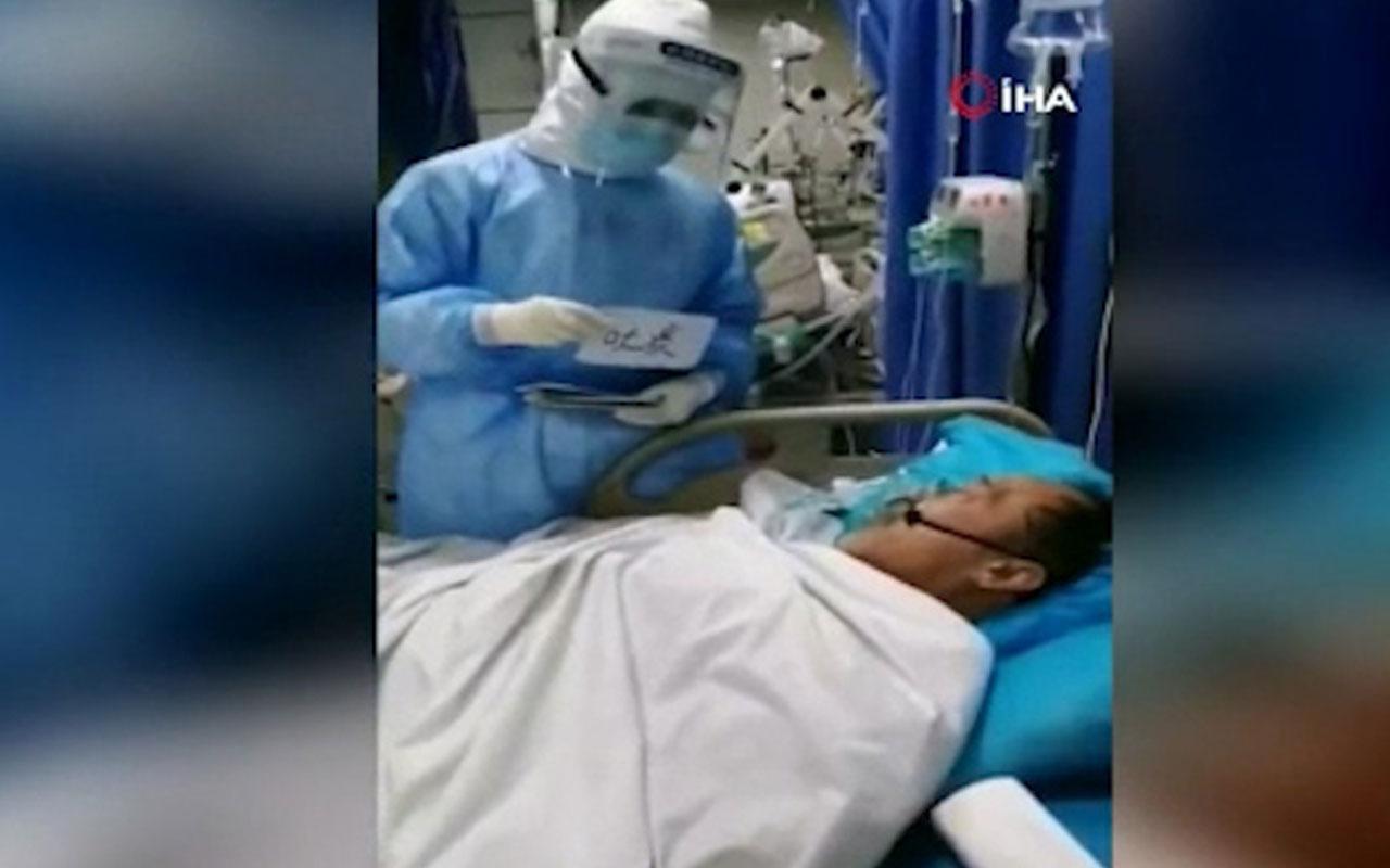 Çin'de virüs bulaşan hastalarla iletişime kartlı çözüm