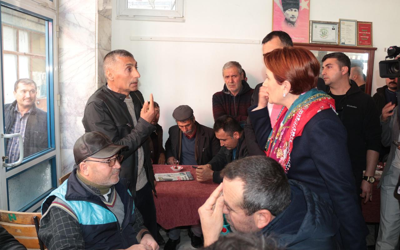 Balıkesir'de kahvehanede Meral Akşener'e şok HDP tepkisi!