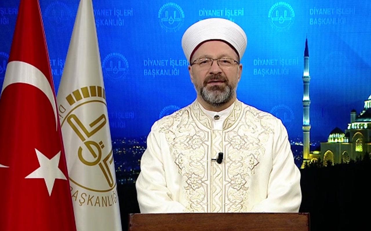 "Diyanet İşleri Başkanı Ali Erbaş'tan ""Regaib Kandili"" mesajı"