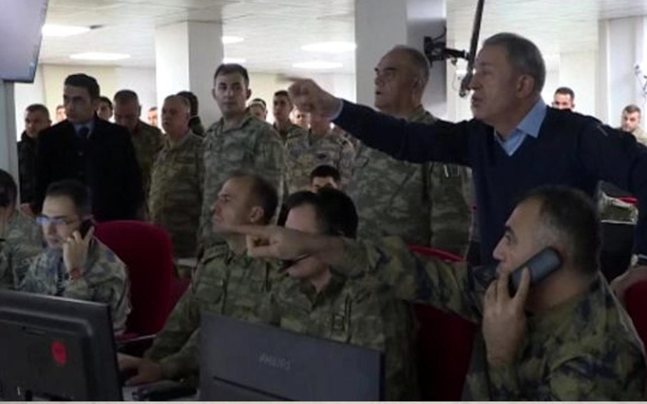 Bakan Hulusi Akar'ın komutanlara vurun emrini verdiği anların görüntüleri yayınlandı