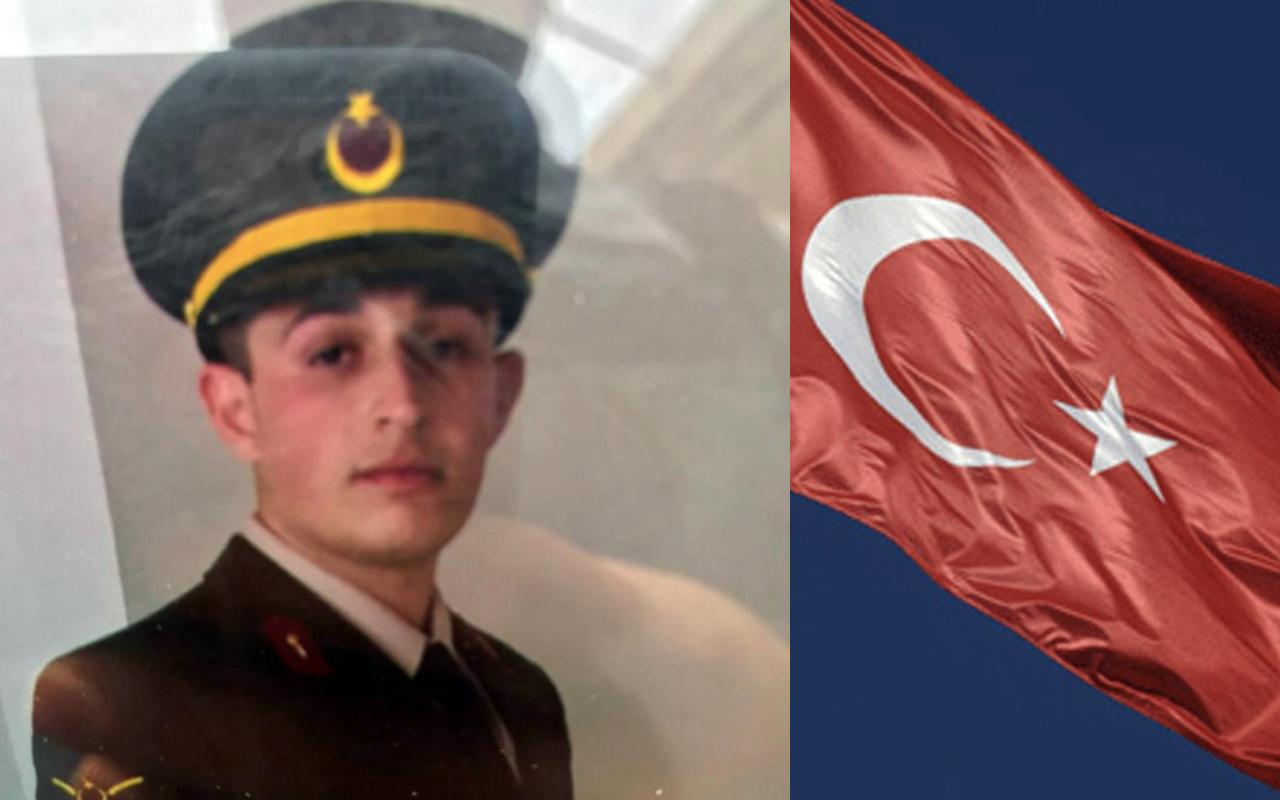 İdlib şehidi Astsubay Çavuş Mehmet Muhammed Mersin'i yaktı