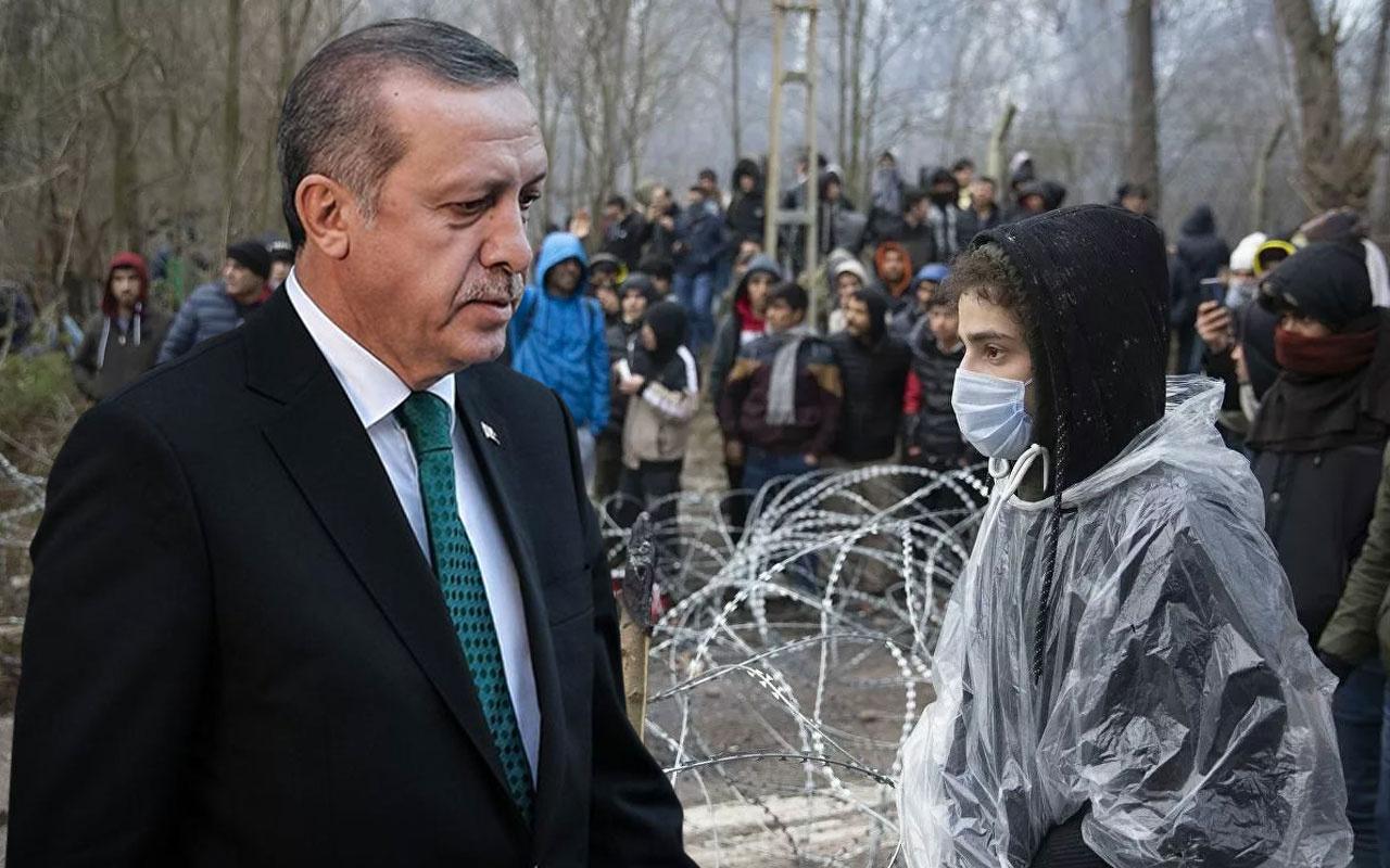 Erdoğan kapatmayacağız deyip rakamı verdi! İşte sınırı geçen mülteci sayısı