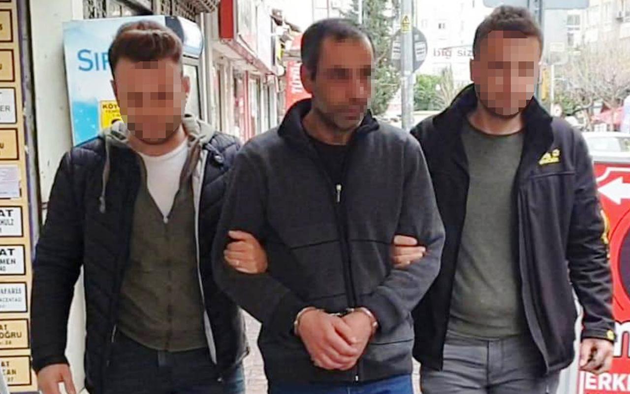 Antalya'da hırsızlık yapan şahıs yakalandı kaçarken düştüğü anlar kameraya yansıdı