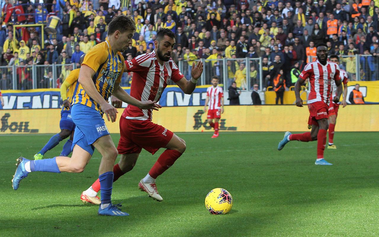 Ankaragücü Sivasspor maçı golleri ve geniş özeti