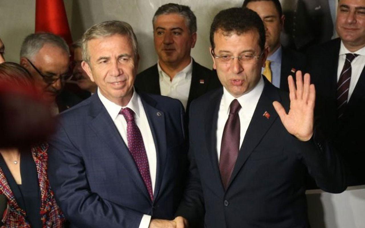 CHP kulisleri kaynıyor Cumhurbaşkanı adayı Ekrem İmamoğlu değil Mansur Yavaş!
