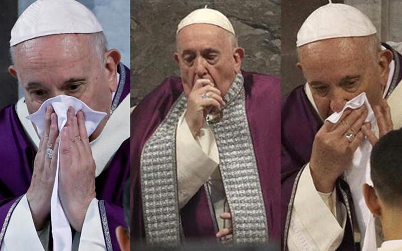Papa koronavirüse yakalandı iddiası! Vatikan'dan açıklama