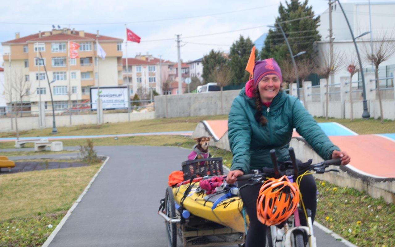 İsveç'ten Kırklareli'ne bisikletiyle uzanan yolculuğunu İstanbul'la noktalayacak