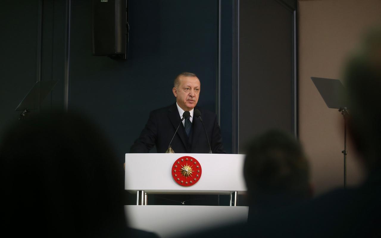 Cumhurbaşkanı Erdoğan'la şehit kardeşi arasında dikkat çeken diyalog