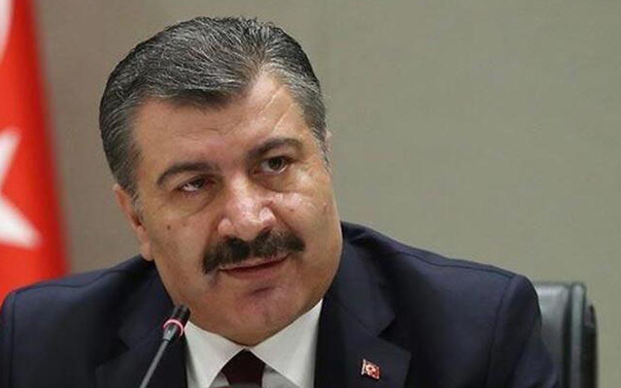 Fahrettin Koca Corona virüsüne karşı sınırda alınan önlemleri paylaştı