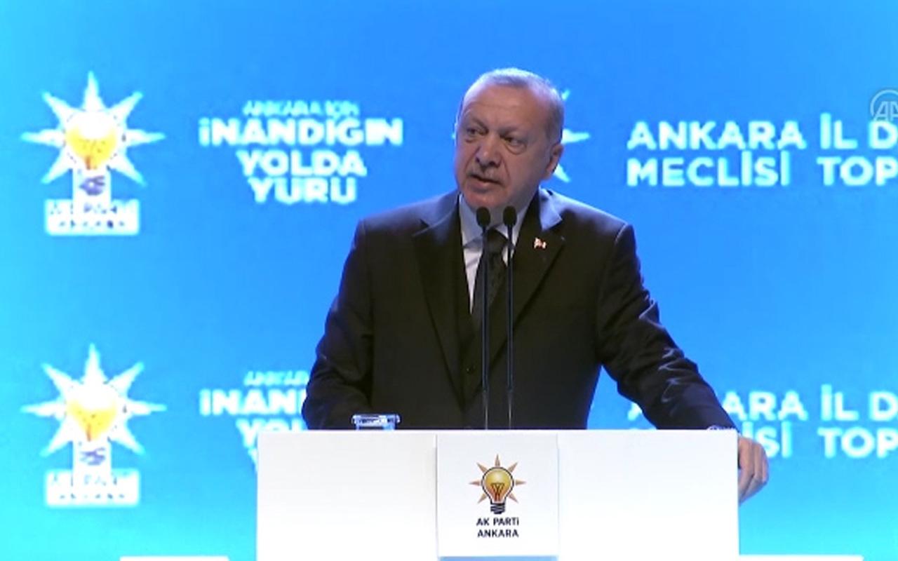 Erdoğan'dan harekat açıklaması: Başlarının üstünde baş kalmayacak