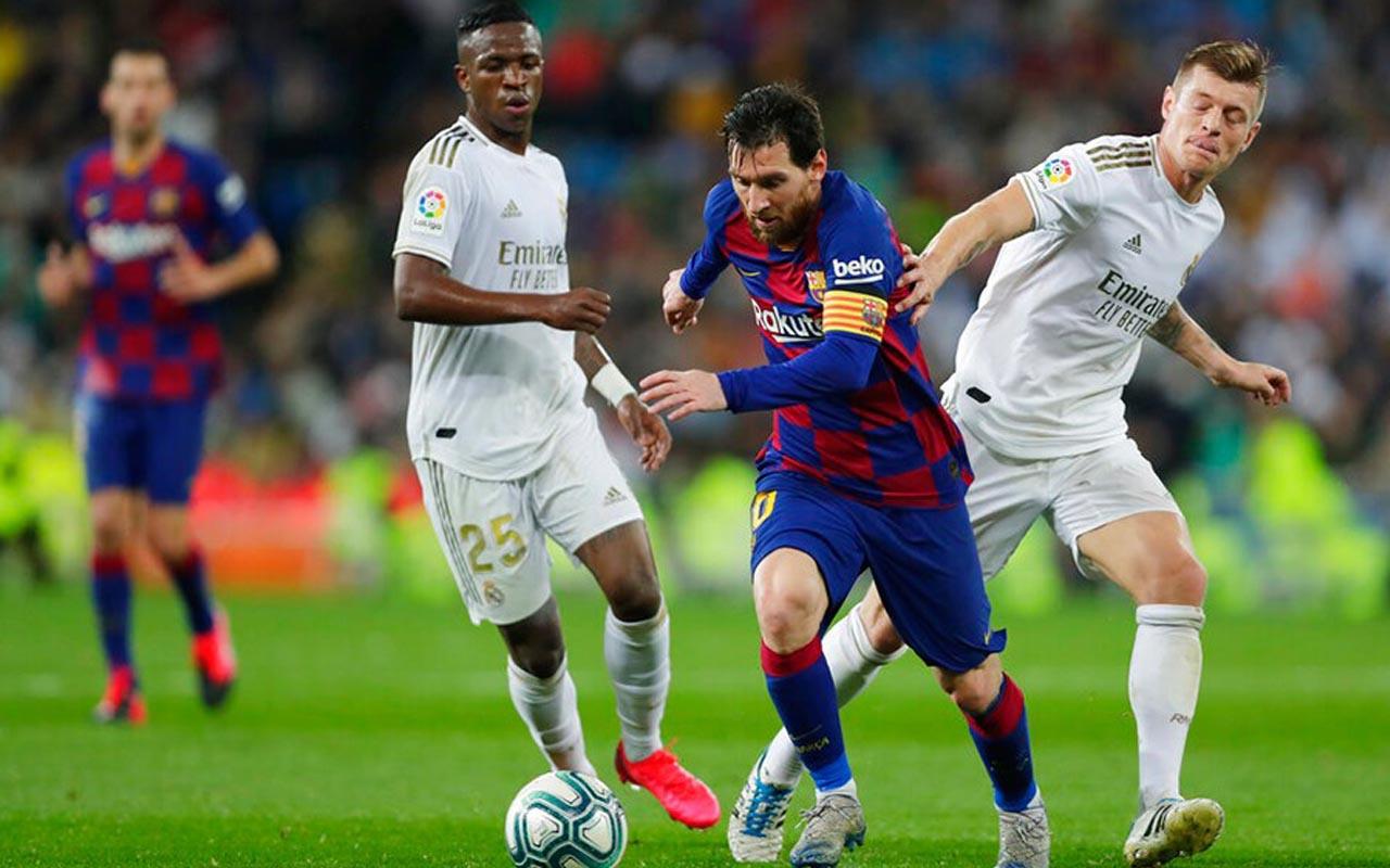 Vinicius El Clasico rekorunu Messi'nin elinden aldı