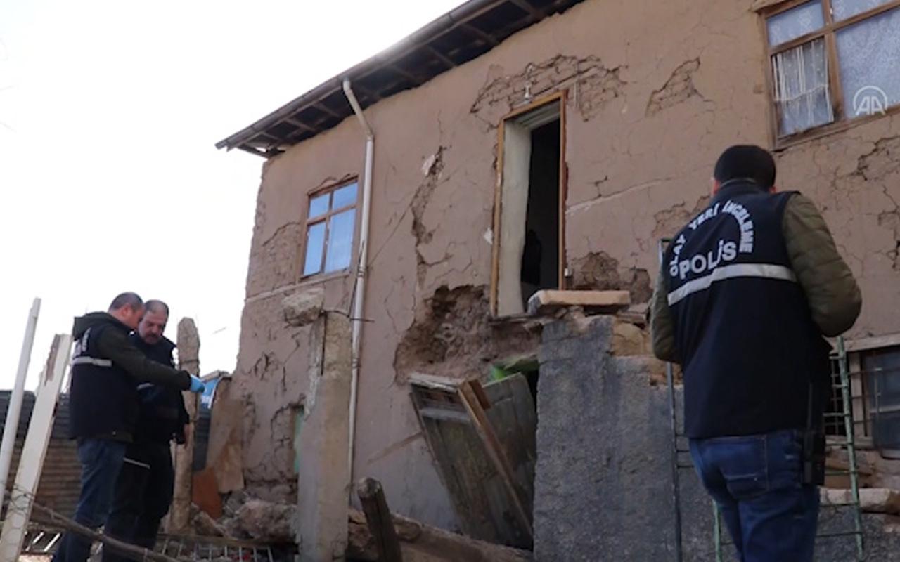 Elazığ'da deprem sonrası evine girdi! Çökme sonucu hayatını kaybetti