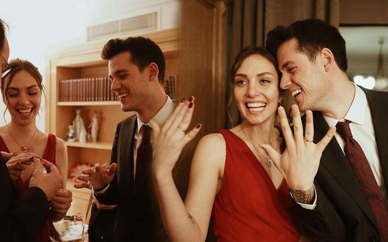 Orkun Işıtmak Merve Yorgancılar ile nişanlandı evlilik yolunda ilerliyor