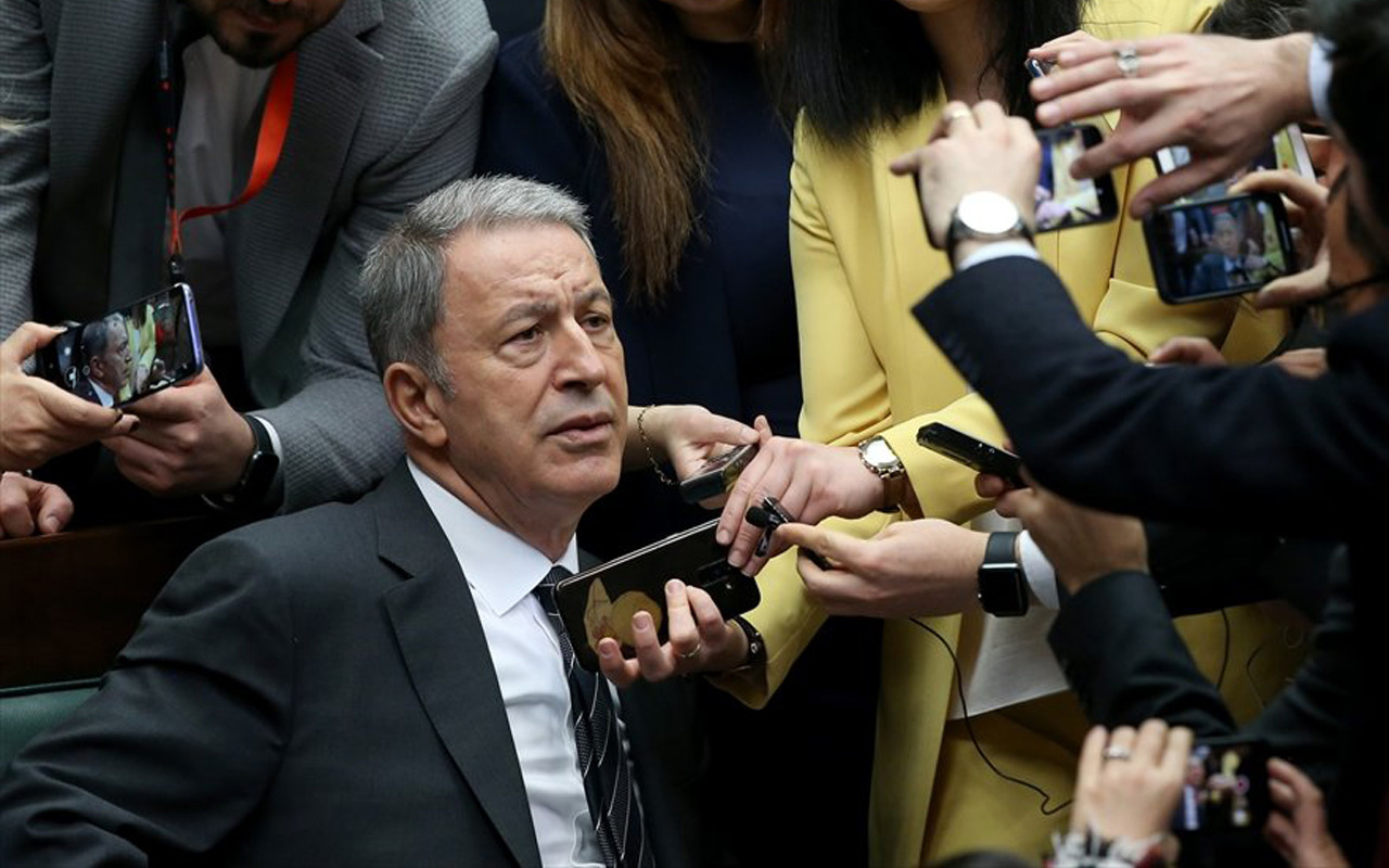 Milli Savunma Bakanı Akar: Barışçıl çözüm olsun