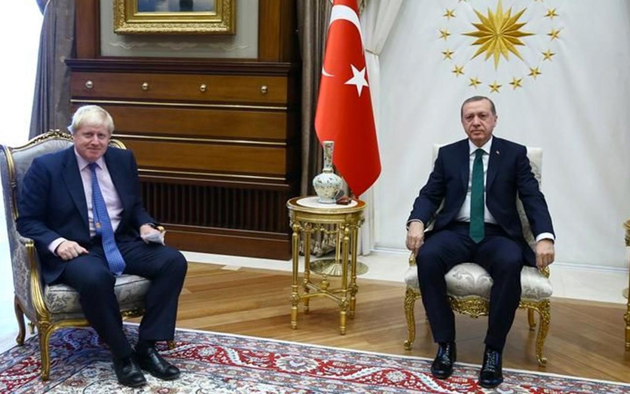 Erdoğan-Johnson telefonda görüştü