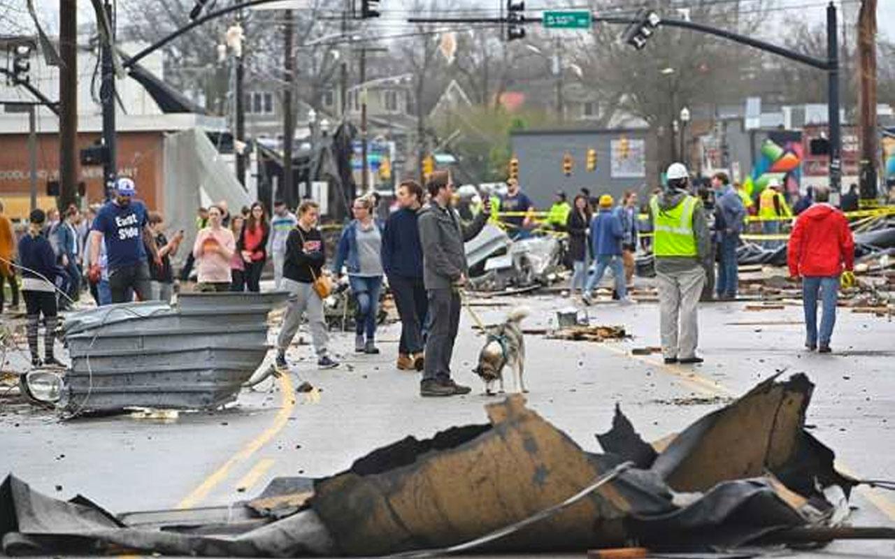ABD'de dehşet veren hortum felaketi: En az 25 ölü var feci görüntülere bakın