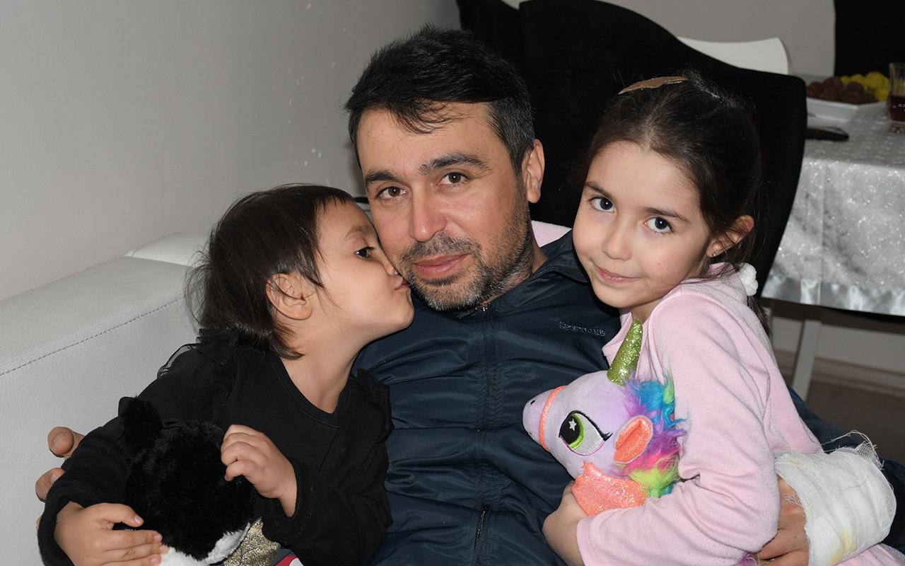 İdlib'de yaralanan yüzbaşı Mersin Tarsus'taki evine geldi