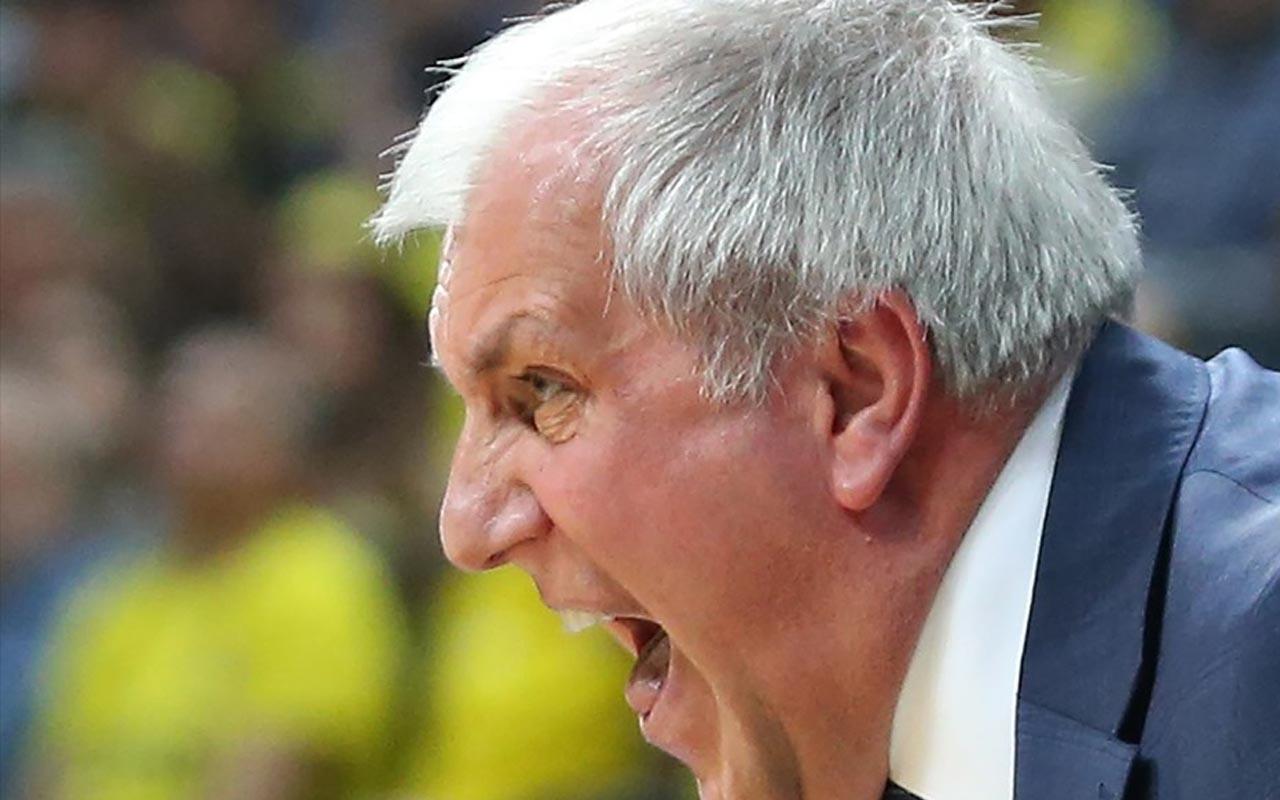 Fenerbahçe rakibini üç sayı farkla geçti Obradovic maçı değerlendirdi