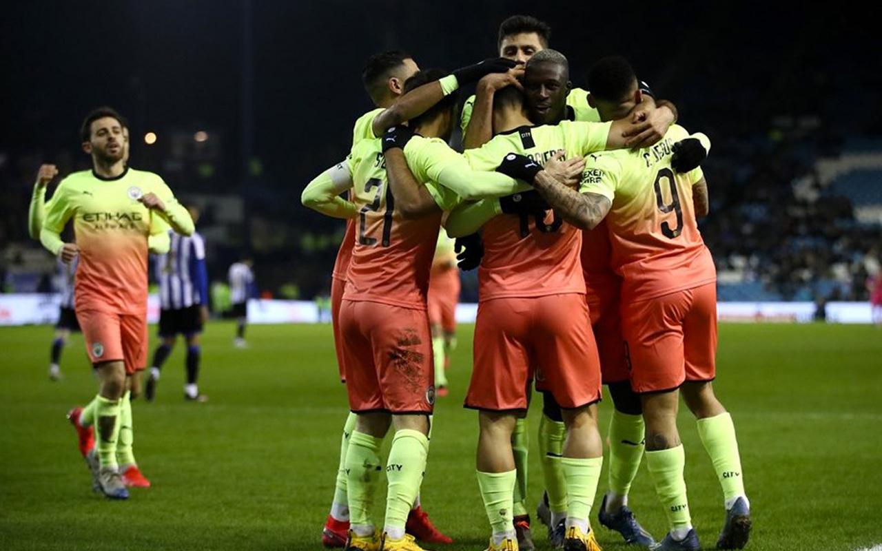 Manchester City çeyrek finale yükseldi