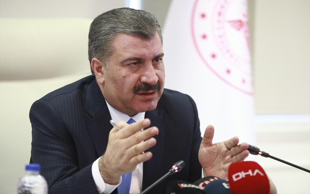 Sağlık Bakanı Fahrettin Koca son durumu açıkladı! Can kaybı 92'ye çıktı
