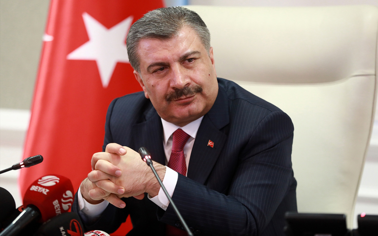 Sağlık Bakanı Fahrettin Koca : İçimizde koronavirüsü taşıyanlar olabilir