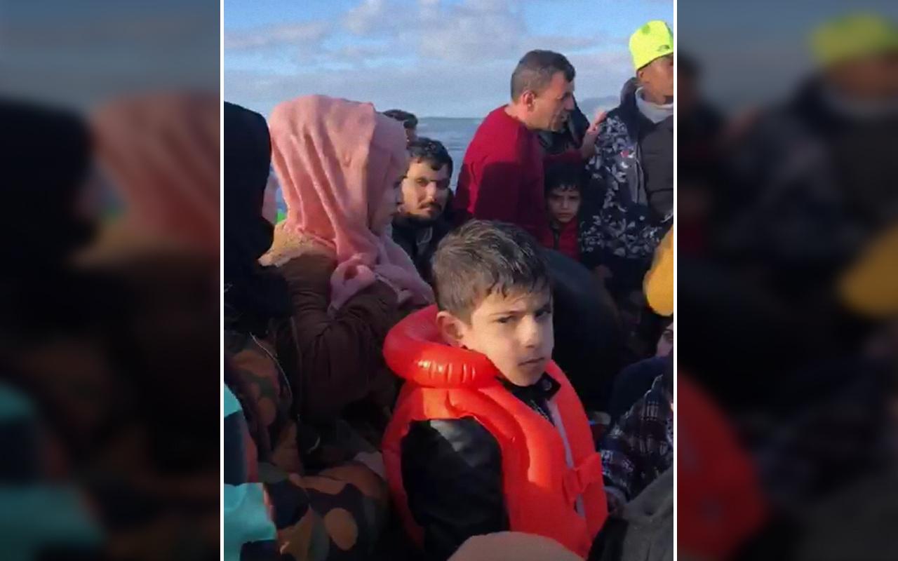 Sığınmacıların Ege Denizi'nde yaşadığı dram çocukların çığlıklarına yansıdı