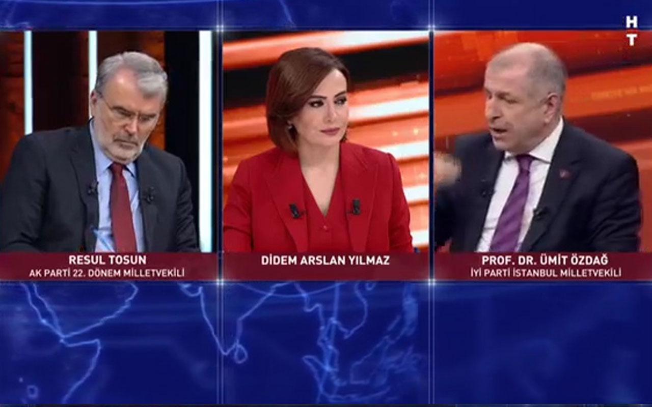 Ümit Özdağ : Erdoğan barışsa AK Parti'nin tümü FETÖ ile barışır