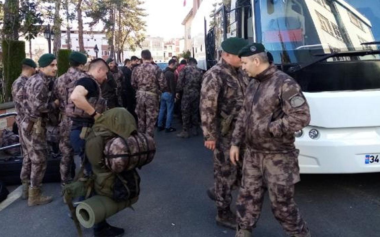 Ordu'dan Yunanistan sınırına 40 Özel Harekat polisi