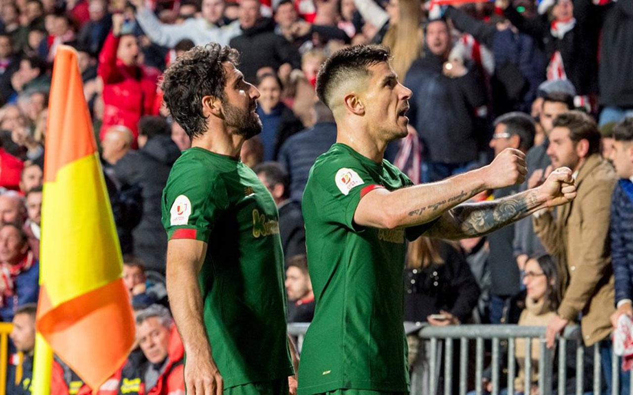 Kral Kupası'nda son finalist Athletic Bilbao oldu