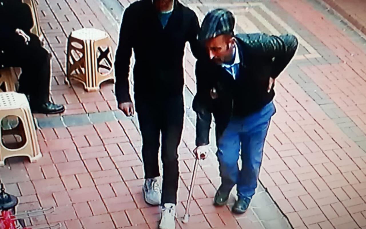 Zonguldak'ta engelli numarası yapan dilenci zabıtaya saldırdı