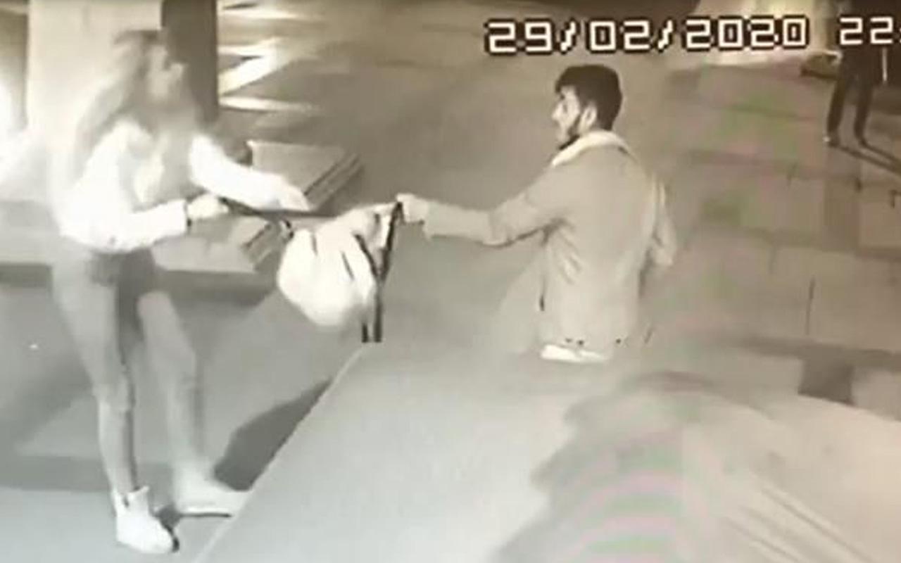 Antalya'da kadın şiddeti! Adamı defalarca tokatladı dükkanı dağıttı