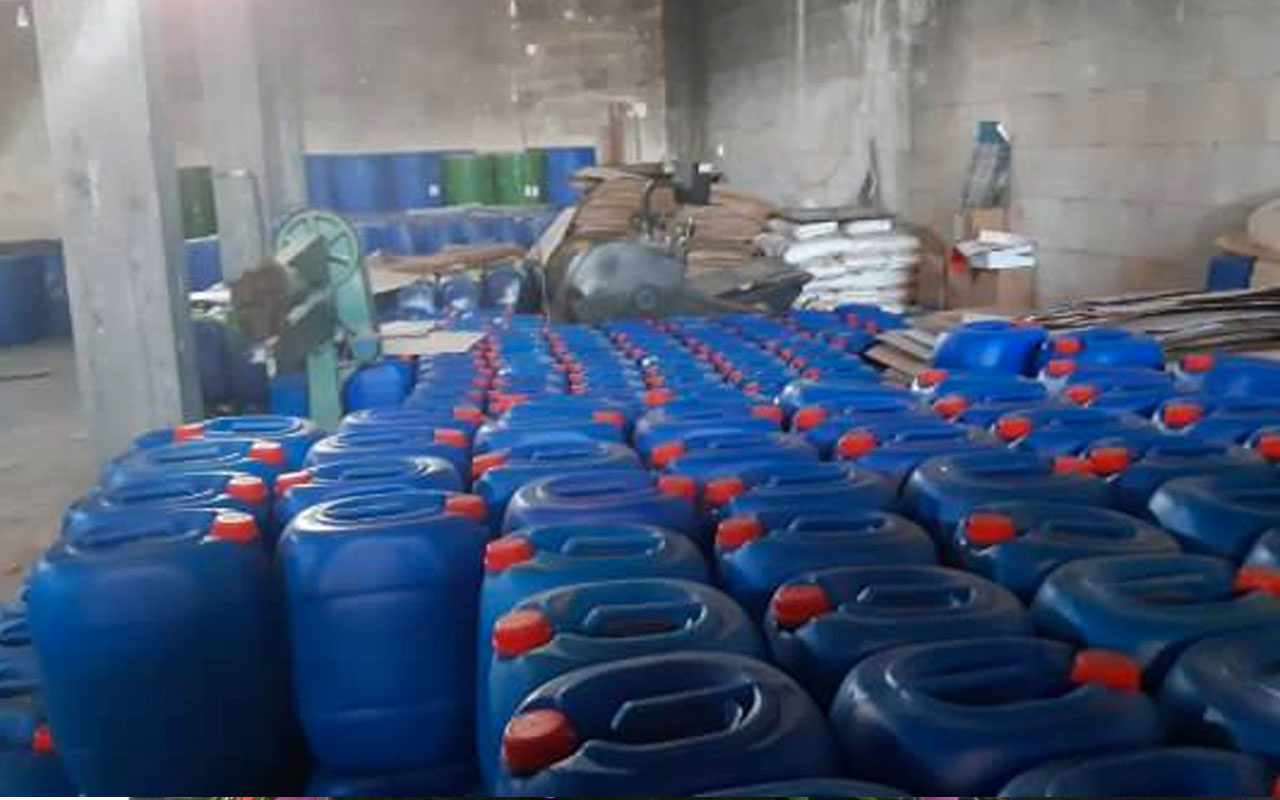 Kilis'te terör örgütü PKK'ya operasyon! 47 ton amonyum nitrat ele geçirildi