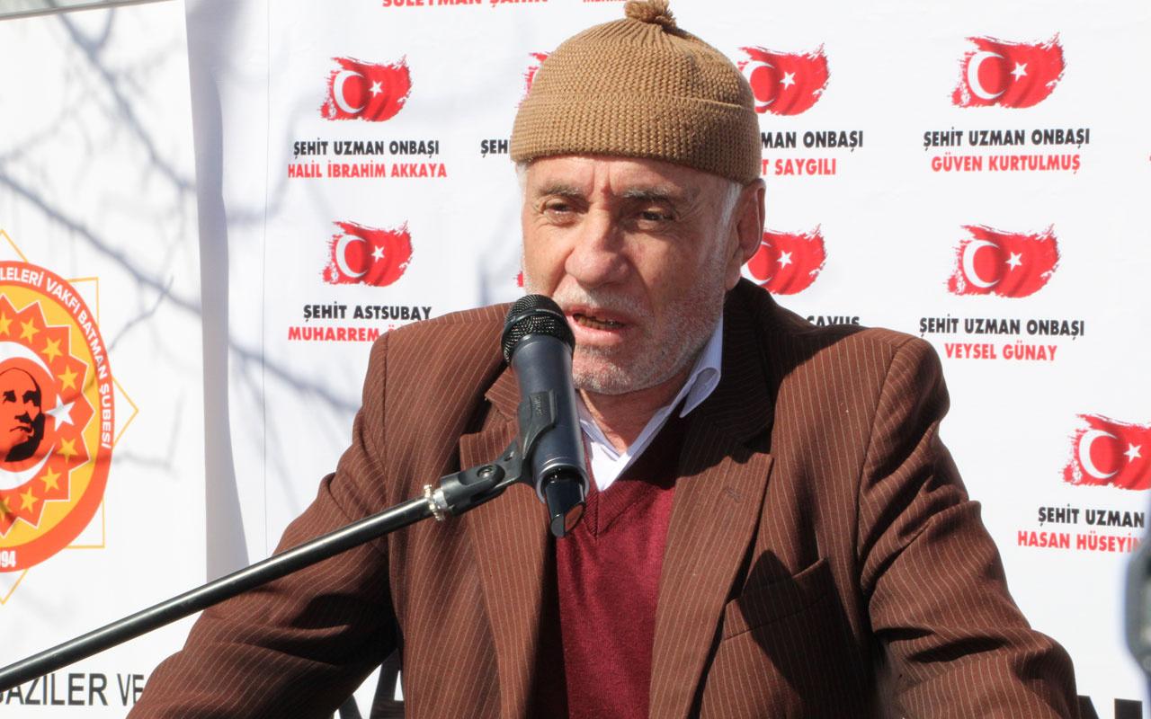 Batmanlı şehit babası Esad'a meydan okudu! 3 bin kişilik aşiretimizle Türkiye için ölmeye hazırız