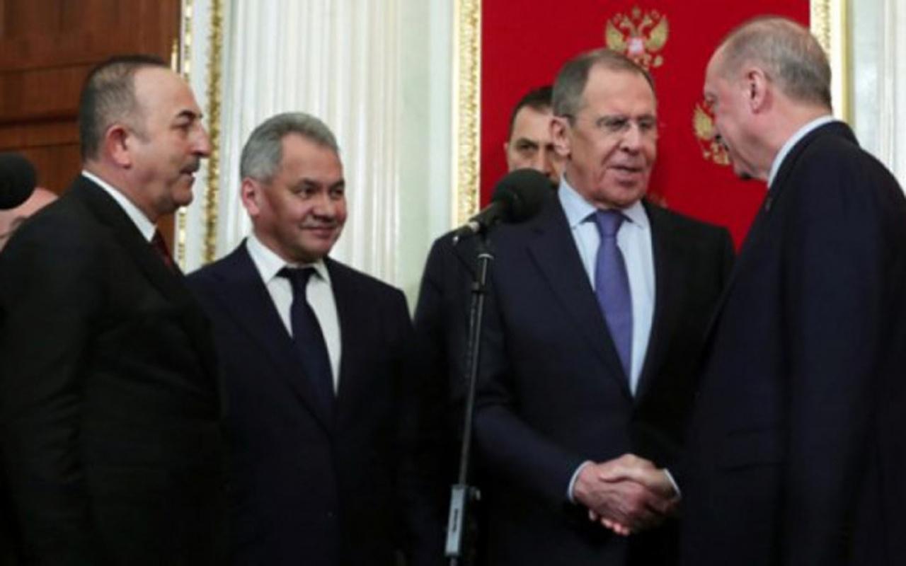 Erdoğan Moskova'da Rus bakana sordu! Şu anda Esad ile konuşuldu değil mi?
