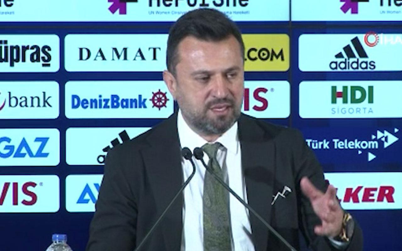 """Bülent Uygun: """"Kaybettiğimiz 3 puan için üzgünüz"""""""