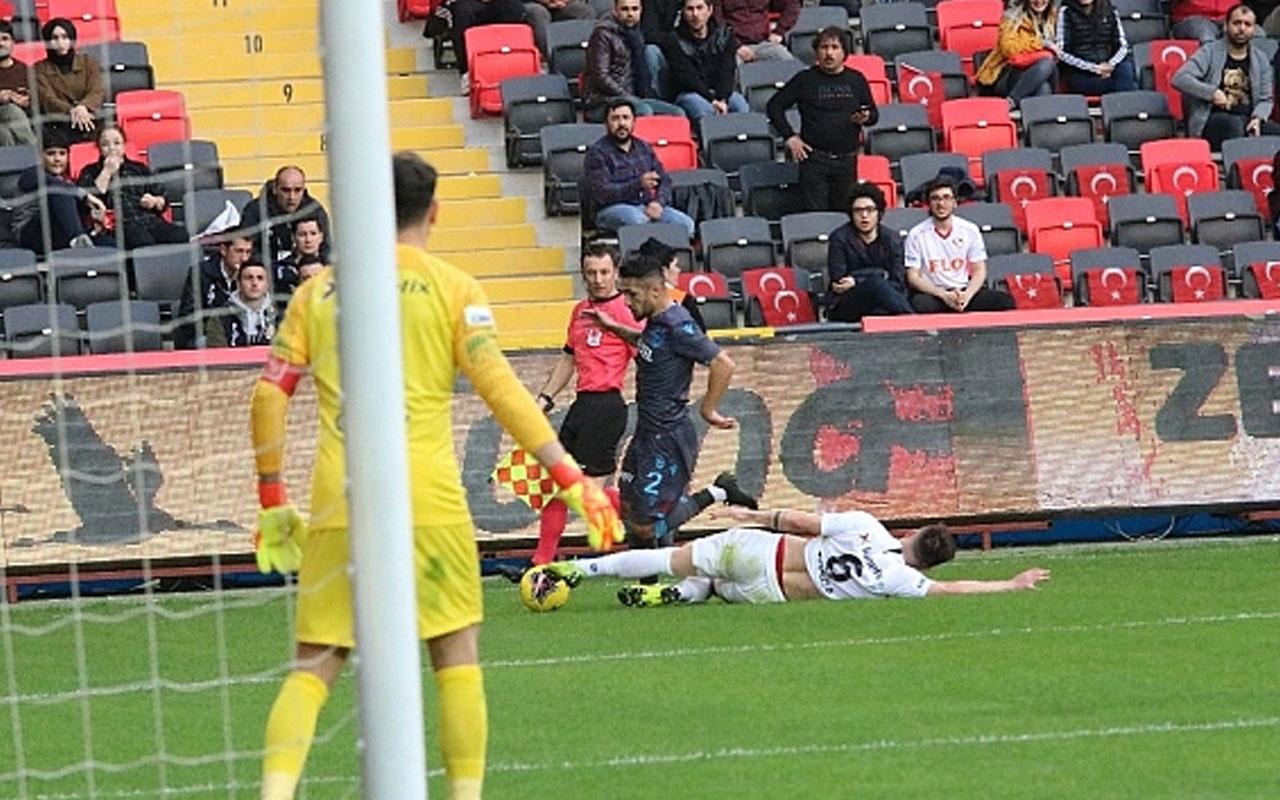 Gaziantep Trabzonspor maçı özet ve golleri