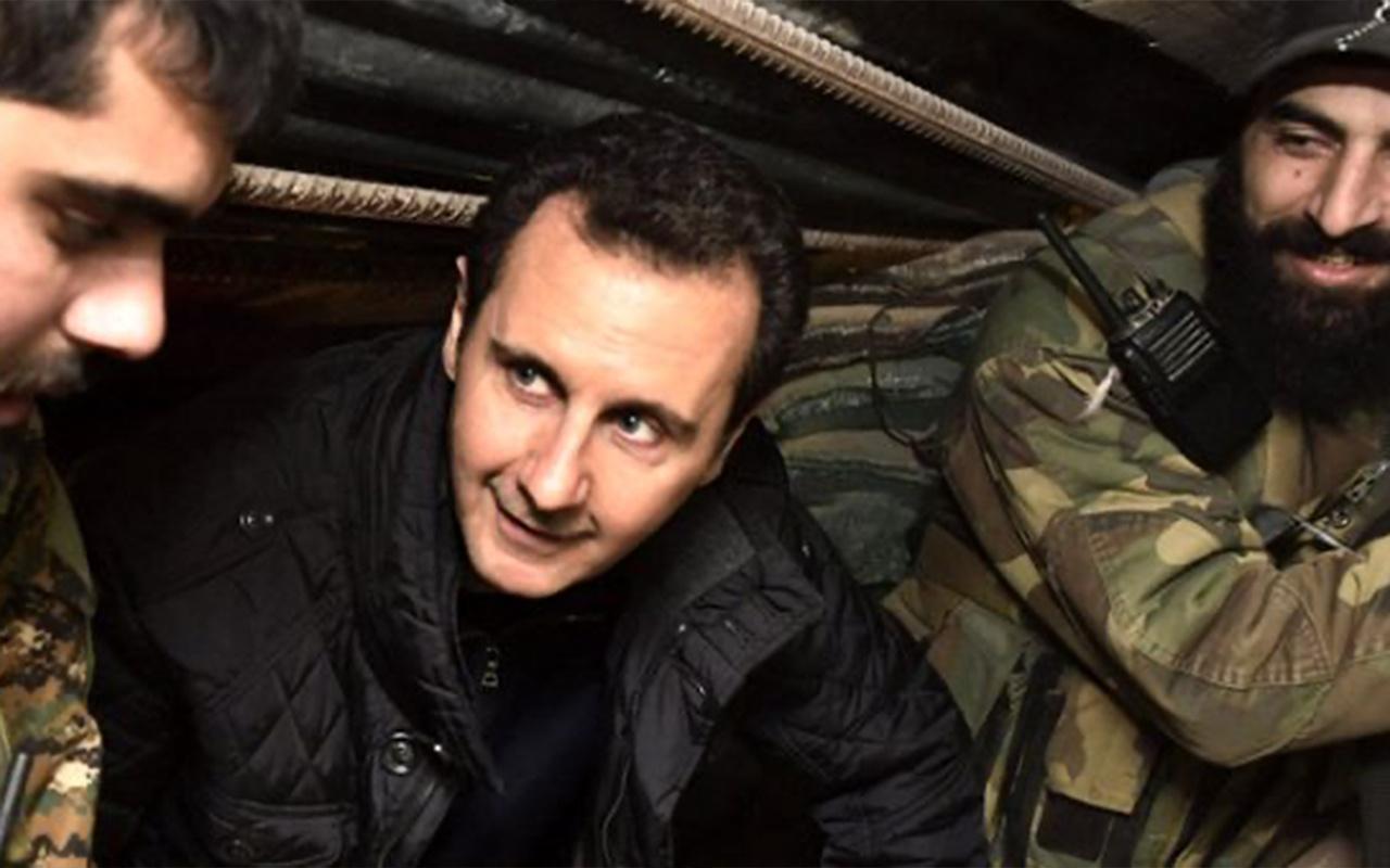 Esed'in karargahında ölümcül virüs paniği! Karargah binası tahliye edildi