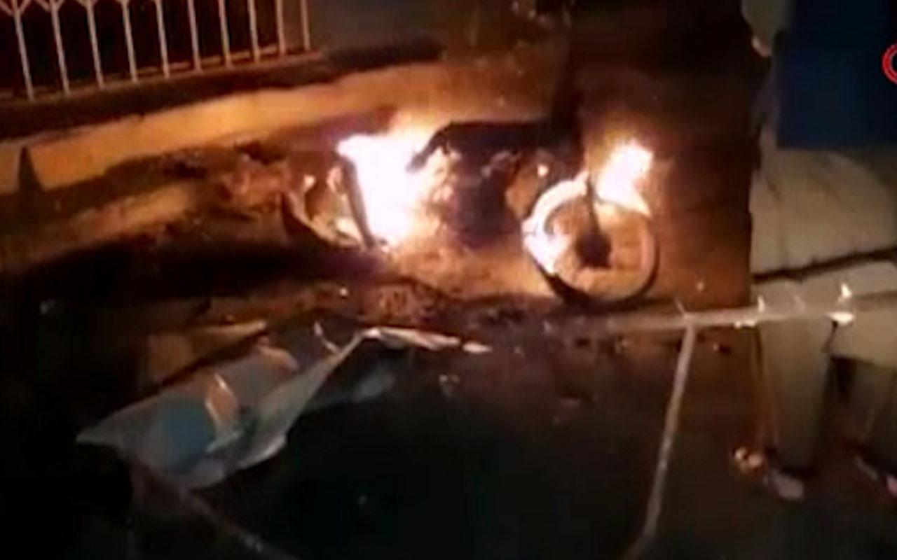 Pakistan'da bombalı saldırıda 9 kişi yaralandı