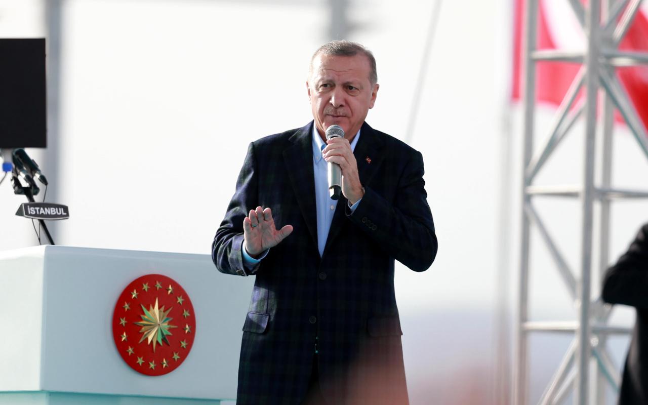 Cumhurbaşkanı Erdoğan: Kanal İstanbul Projesi en yakın zamanda ihaleye çıkıyor