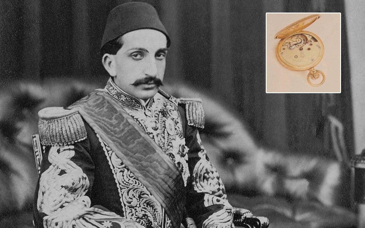 Abdülhamid'in cep saati açık artırmayla satıldı! Ünlü iş adamı rekor fiyat vererek aldı