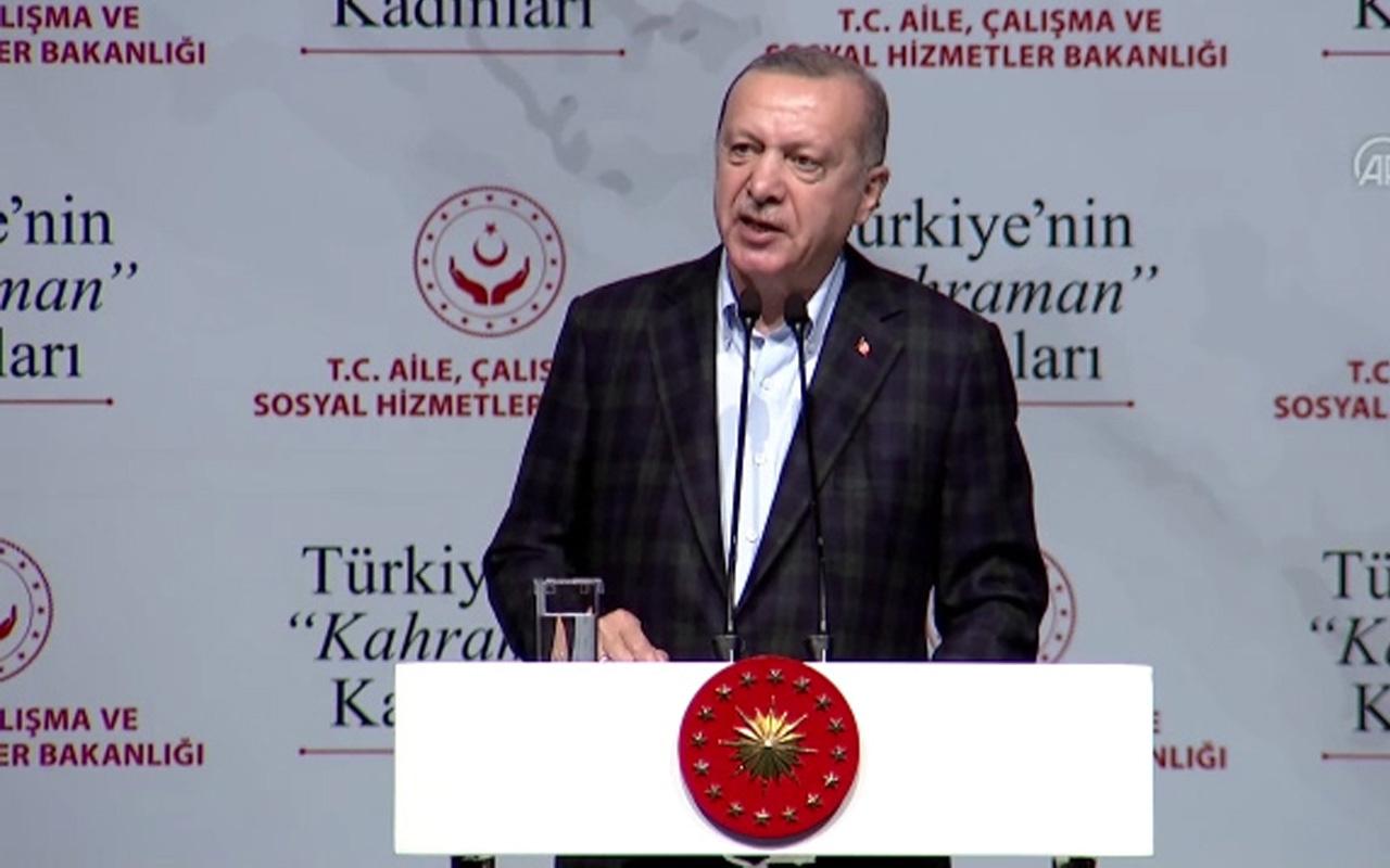 Cumhurbaşkanı Erdoğan: Kendi konforlarını bozmamak için sırtını dönenler var