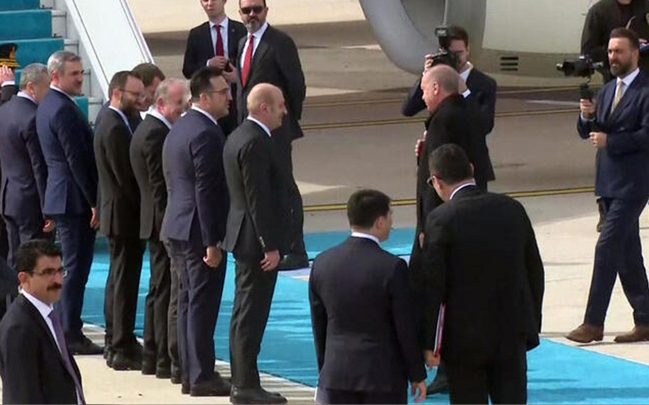Erdoğan Brüksel'e gidiyor! Havalimanında 'koronavirüs' önlemi