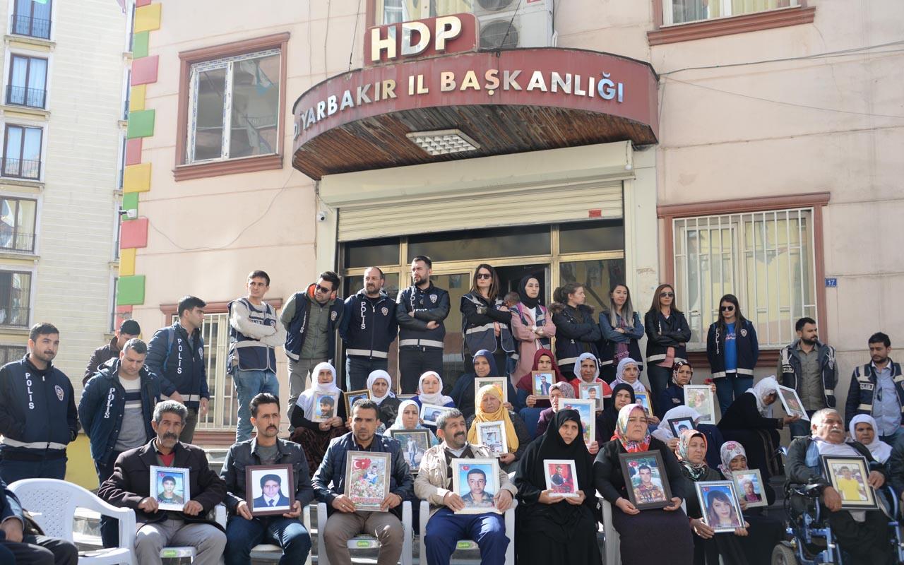 HDP önündeki eylemde 189'uncu gün