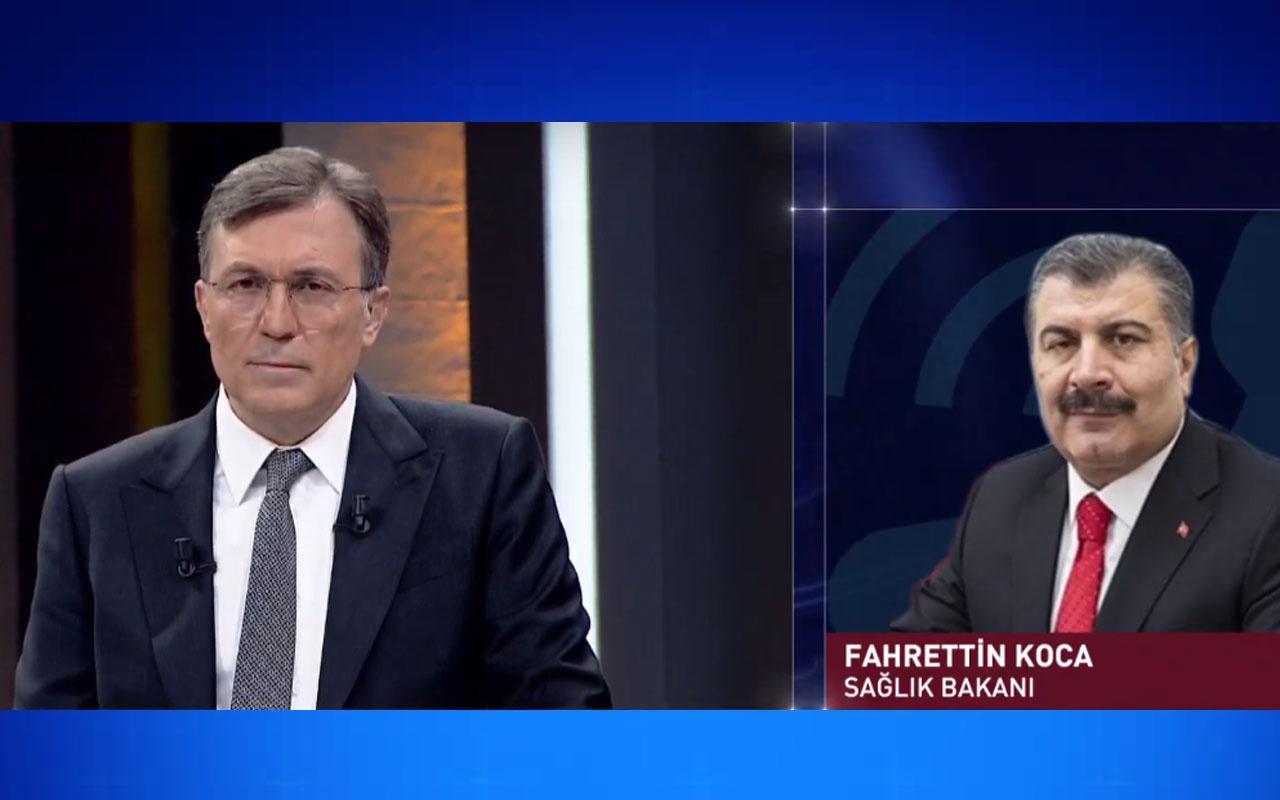 Sağlık Bakanı Fahrettin Koca : Koronavirüs taşıyanlar olabilir
