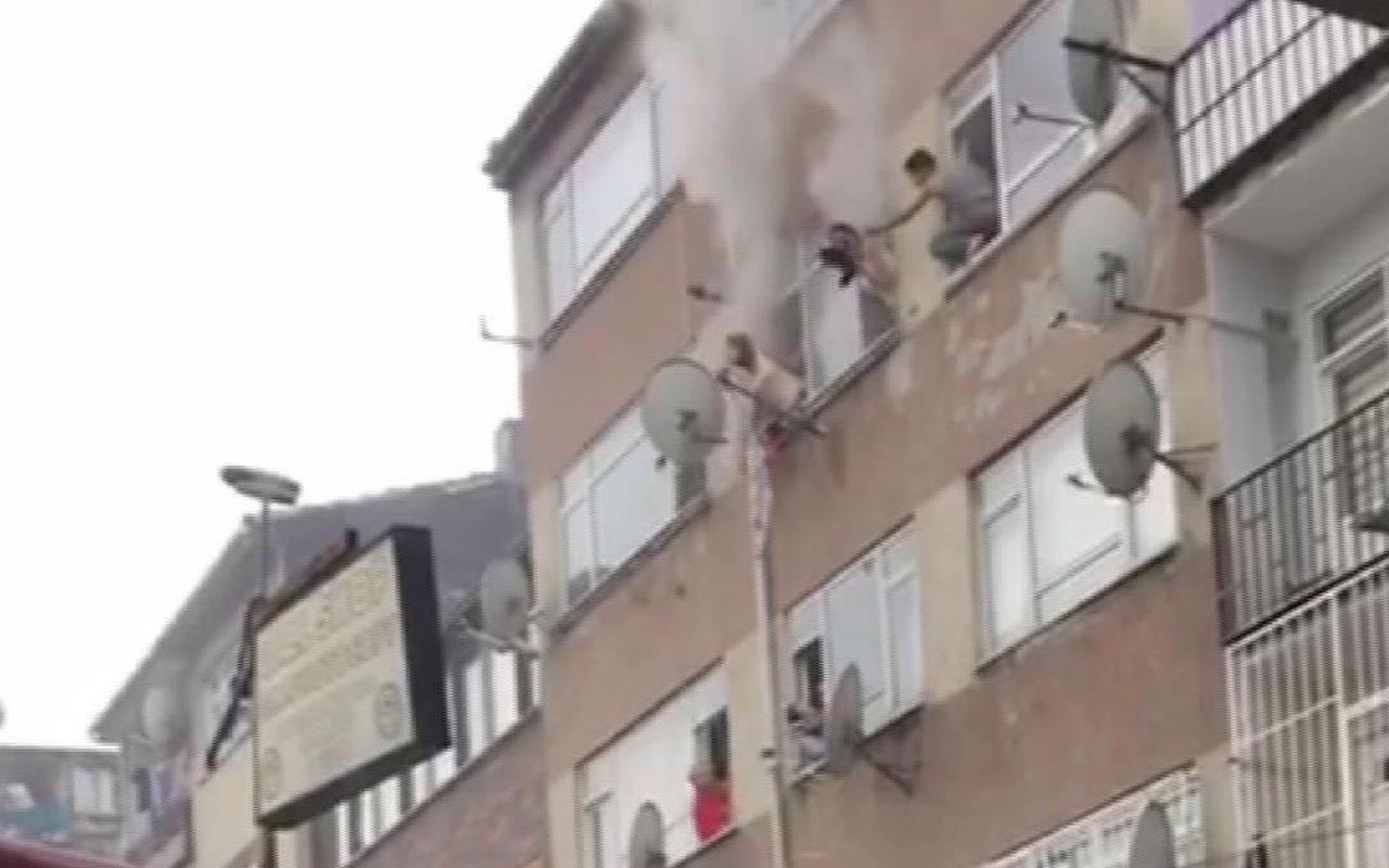 Fatih'te can pazarı kamerada! Böyle kurtarıldılar