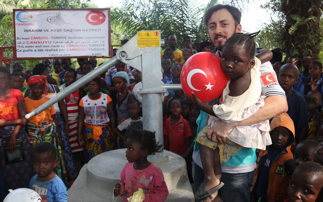 Cansuyu Derneği Liberya'da 22 su kuyusu açtı