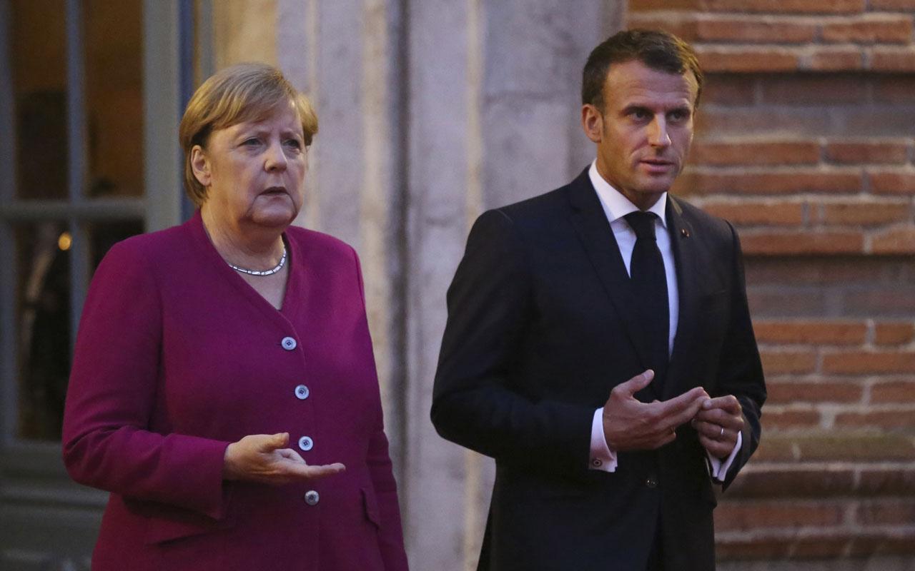 Kapılar açıldı Macron ve Merkel tıpış tıpış Türkiye'ye geliyor