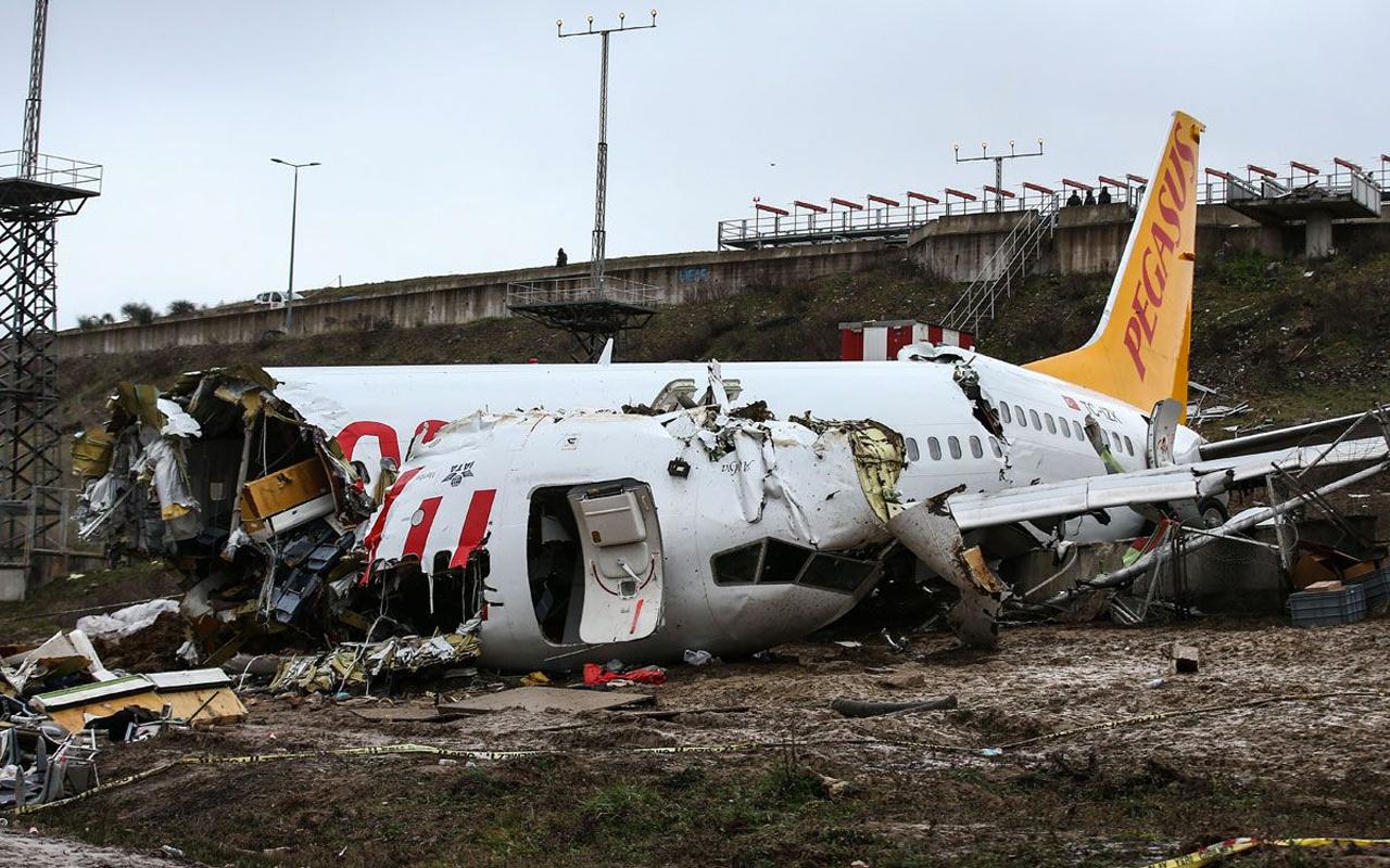 Sabiha Gökçen'deki uçak kazasına ilişkin ön rapor hazırlandı