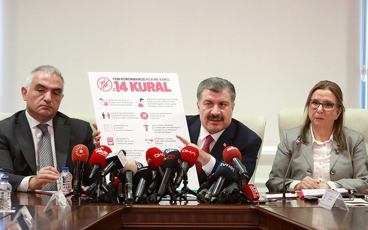 Sağlık Bakanı Koca: Koronavirüs konusunda risk ciddi